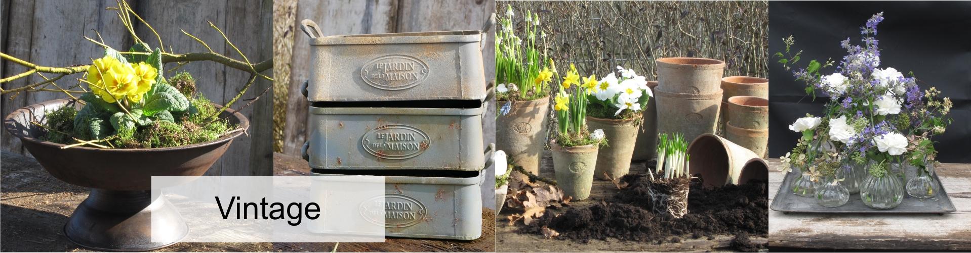 Vintage - Deko für Haus u. Garten - Hortulus-Uphoff